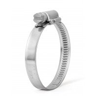 40-60mm 304 Stainless Steel Clip Fuel Air Water Worm Hose Clamp 10 Pack