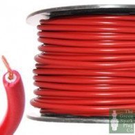 7mm HT Ignition Lead Cable - Wire Core PVC Red - 30 Meter Roll