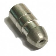 10x Bullet terminals connectors brass Crimp Solder 4.7mm Dia - 0.65 mm² wire