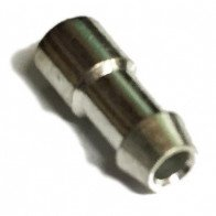 10x Bullet terminals connectors brass Crimp Solder 4.7mm Dia - 3.0 mm² wire