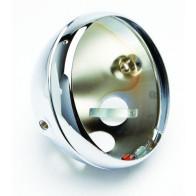 GS10148 - HEADLAMP SHELL - Lucas Replica chrome shell & rim .