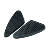 GS26537 - KNEE GRIPS - BSA Pair Of Black for C15/B40/A10/A65 (1960-68).