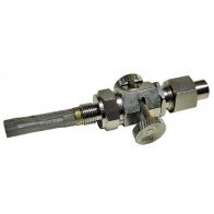 GS73068N - Universal Push on, pull-off fuel tap with nut,spigot 1/8'' x 1/4''