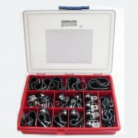 Kits - Clips & Clamps - P Clips, EPDM Liner 5-25mm