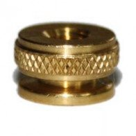4x Spark Plug Brass Thumb Nut M4 Champion Replica