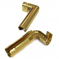 4x HT Brass push in terminal for distributor coil - 7mm 8mm Right Angle Crimp Ty