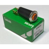 Lucas Jewel type Warning Light (Amber) 99-1207,LU54363453, LU38190,SPB391