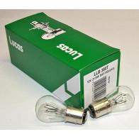 BAY15D Lucas Stop/Tail Bulb 12V LLB380T (10 Pack)