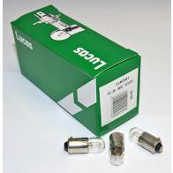 BA9S Lucas Instrument Bulb 12V LLB288T (10 Pack)