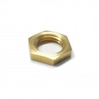 "Brass Lock Nut 1/4"" BSP - Petrol Fuel Pipe"