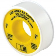 12mm x 5M PTFE TAPE GAS APPROVED BS6974