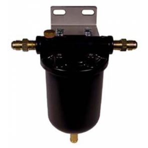 1x Fuel Swirl pot with 12mm - Jic6 - Jic4 Unions (CCP002)