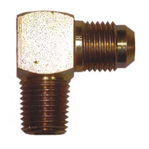 1x Steel 90 Degree 1/4 Npt-JIC6 (EA04)