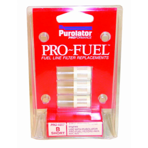 1x Pro-Fuel Short Filter Elements x 3, Fits Pro823 (PRO897)