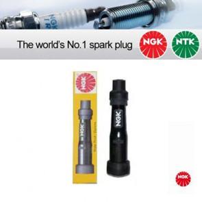 1x NGK Resistor Spark Plug Cap SD05F black (8022)