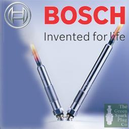 Image of Bosch Sheathed Element Glow Plug 0250202704